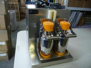 Second Hand Double-cup Auto Milk Tea Shaker Shaking Machine 110V 134500