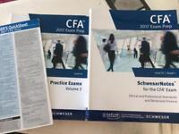 CFA 2017 Level III Schweser Textbooks (5/5) and Mock Exams (2/2)