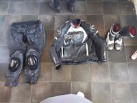 RST LEATHERS AND BOOTS