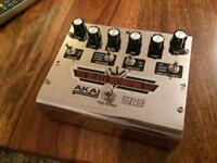 AKAI DELUXE DISTORTION GUITAR PEDAL - Can Post
