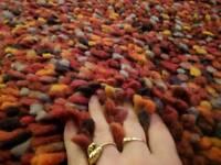 XL rug 100% wool