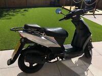 Kymco Agility 50 Scooter 2010 Black/Silver