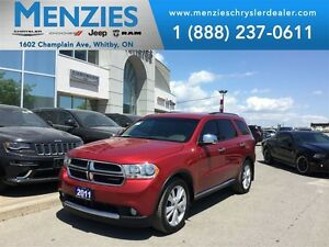 2011 Dodge Durango Crew Plus, AWD, Bluetooth, Navi, Clean Carpro