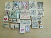 RUBBER STAMPS FOR CRAFTING ALL TYPES OF CARDS/ XMAS /BIRTHDAY/ANNIVERSARY/WEDDDING/FLOWERS/ANNIMALS