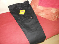 Two pairs of dickies work trousers 36.s 1 brandnew pair &1 pair washed once