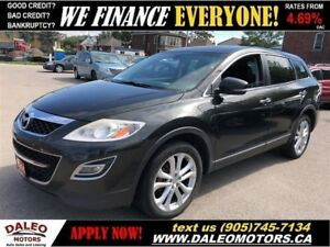 2011 Mazda CX-9 GT| AWD | LEATHER | NAVI | REAR CAM | 7 SEATER