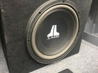 JL Audio Sub (Subwoofer) 12w0v3 & JL AMP (with wiring kit)