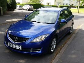 Mazda 6 2.0 Diesel TS ESTATE !!! FULL SERVICE HISTORY !!! MOT @ HPI CLEAR !!! Very good condition