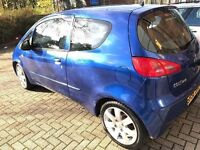 Mitsubishi colt 1.1 litre and low mileage £1199