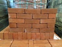 68MM HERITAGE SOFT ORANGE BRICKS @ £0.87 EACH