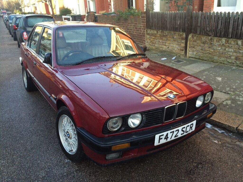 All BMW Models 1989 bmw e30 BMW E30 (1989) 320i - wine red with cream leather interior | in ...