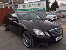 Mercedes-Benz E Class 2.1 E220 CDI BlueEFFICIENCY SE 4dr£6995 p/x welcome FREE WARRANTY. NEW MOT