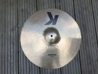 "Zildjian K 18"" crash ride"