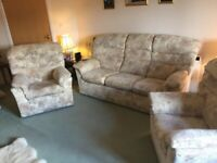 G-Plan Sofa and 2 Armchairs