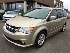 2013 Dodge Grand Caravan CREW PLUS WITH LEATHER, DVD, NAVIGATION