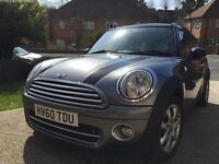 MINI Clubman 1.6TD Cooper D Graphite 4dr with Rear parking aid/sensors.