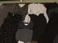 Maternity clothes bundle - size 12/M