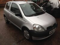 Toyota Yaris 1.0 5 speed gearbox good condition