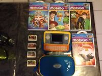 Vtech MobiGo Learning Game Console with 4 Games and Case
