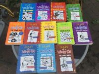 Diaries of a wimpy kid