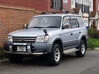 Toyota Landcruiser Prado 3.0 TD Auto (LWB) + 1996/N Reg + 7 Seater + 1 UK OWNER + JAP IMPORT + 4X4 +