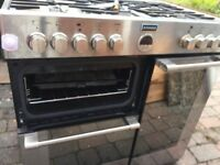 Stoves5 burner gas/ electric double oven