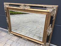 Antique looking mirror