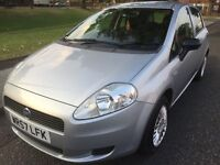 2007 FIAT GRANDE PUNTO ACTIVE 1.2 PETROL 5 DOOR HATCHBACK LONG MOT LOW MILEAGE*****