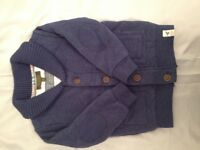 Boys baker cardi and hoody 2-3 / 3 years