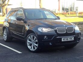 2008 (Sep 58) BMW X5 3.0 SD M SPORT - 5 Doors - AUTO - DIESEL - BLACK *TOP SPEC - PAN ROOF - FSH*