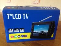 "Portable 7""LCD TV"
