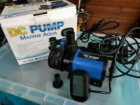 Dc Return pumps for marine aquariums,