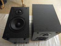 2 X JVC UX D100 Speakers 2x35w Each