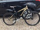 """Bontrager 69er single speed - Hard tail - Fox Suspension 17.5"""" Frame - Mint Condition - Must see"""