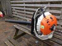 STIHL Magnum BR600 Backpack blower 2014