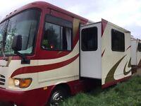 Newmar Dutchstar American RV&Smart Car Free! Diesel Motorhome 5.9 Automatic-Campervan/5TH Wheel:LHD