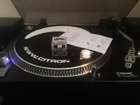 Citronic PD-1mk3 Direct Drive Turntable & Behringer PP400 Phono Preamp