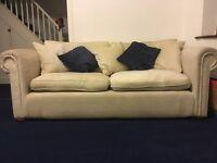 Sofa 3 seater x2 plus armchair