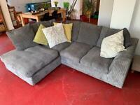 Grey corner sofa - house clearance free or cheap