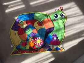 Lamaze snail play mat in excellent condition!
