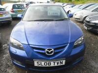 MAZDA 3 2.0 Sport 4dr A LOVELY CAR, BOSE SOUND SYSTEM, NICE COLOUR.MOT NOVEMBER 201 (blue) 2008