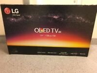 New LG 55 inch OLED HDR 4K Smart TV with magic remote, Freesat HD & Freeview Play