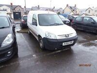 Peugeot partner van 1.7 for sale spares or repair