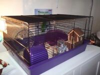 Large Hamster cage hardly used