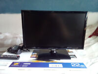 "22"" UE22F5000 Samsung LCD Smart TV (1920x1080, 100mhz refresh, 1 ms response time)"