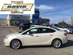 2012 Buick Verano LTHR 1SL, SUNROOF, RSRT,  LOCAL TRADE!!