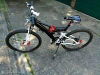 """26"""" full suspension bike , disk brakes"""