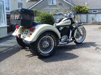 Honda VT 1100 Classic American Edition with Lehman trike covershion