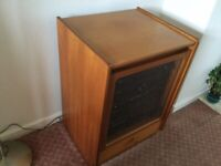 FREE Nathan hifi / Storage cupboard in teak in excellent condition