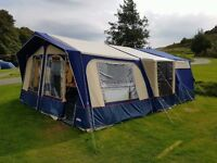 2005 Cabanon Saturn 4 / 8 Berth Trailer Tent...Ready To Go..With Extras .Great Camping Investment ..